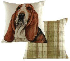 Basset Hound Boston Waggy Dogz Cushion
