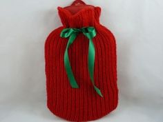 Free Knitting Pattern For Small Hot Water Bottle Cover : 1000+ images about Hot Water Bottle Covers Knitted on Pinterest Hot water b...