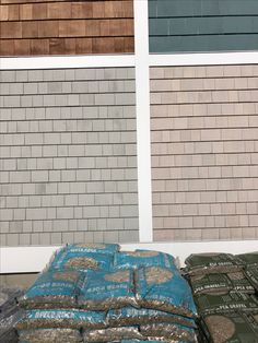 Maibec Seacost, Natural Cedar Shingles, Larder, Exterior Paint, House Colors, Cottage, Natural, Painting, Ideas, Home