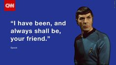 He lived long and prospered: Leonard Nimoy reported dead at 83. http://cnn.it/1JVo6FB