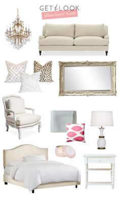 Add luury to your bachelorette pad with nice mirros, throw pillows and a tufted accent chair