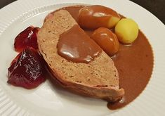 Gammeldags Forloren Hare - EnHimmelsk Mundfuld Danish Food, Lchf, French Toast, Healthy Recipes, Yummy Recipes, Yummy Food, Cooking, Breakfast, Denmark