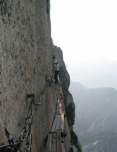 caminos peligrosos , Hua Shan, China