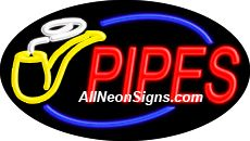 "Pipes Flashing Neon Sign-ANSAR14366  Dimensions: 17""H x 30""L x 3""D  Custom colors ship in 5-7 business days  110 volt flasher transformer  Cool, Quiet, and Energy Efficient  Hardware & chain are included  Comes standard with 6' power cord  Indoor use only  1 Year Warranty/electrical components  1 Year Warranty/standard transformers."