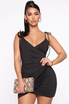 AKIRA Womens Slinky Deep V Skinny Straps Racerback Drape Asymmetrical Mini Slip Dress