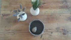 Emu feathers, pine needles and 100% merino wool <3