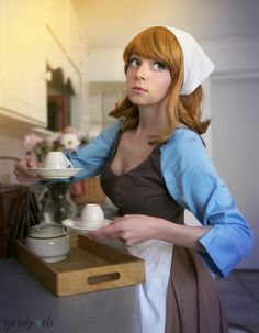 Adorable Peasant Cinderella Cosplay Is A Disney Dream