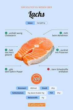 Salmon - herbal spices recipes effects - Rezepte - Nutrition Healthy Food List, Healthy Life, Healthy Recipes, Clean Eating Snacks, Healthy Eating, Sunburn Remedies, Nutrition, Eat Smart, Food Facts