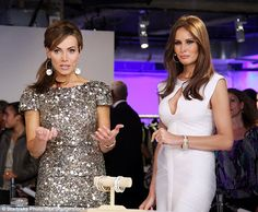 Ex QVC queen Lisa Robertson partnered up with Melania to sell her costume jewelry on the h...