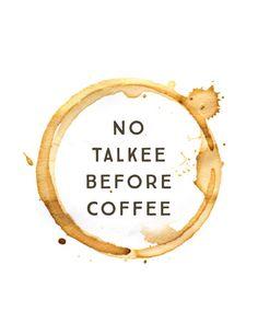 Homebrewing coffee No Talkee Before C - homebrewing Coffee Quotes Funny, Coffee Humor, Funny Quotes, Funny Coffee, Coffee Is Life, Coffee Shop, Coffee Coffee, Ninja Coffee, Coffee Lovers
