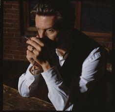 One of Markus Klinko's photos of David Bowie. Courtesy Markus Klinko.