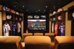 Top #Man Cave ideas from #DIY Home Design Ideas add a #Chamberlain #garage door openers  http://www.chamberlain.com