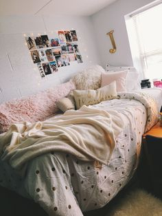 Pink and gold #GoldBedding