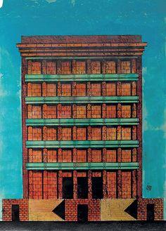 Complesso alberghiero e ristorante Il Palazzo, Fukuoka, 1987-1989 »