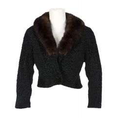 MARILYN MONROE LAMB JACKET - Current price: $7500