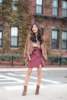 The cutest Fall skirt for under $50