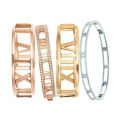 Tiffany & Co. have an uncanny ability of introducing designs that capture the mood of contemporary fashion and American luxury. The Atlas collection is no different with it's collection of cuffs, rings, necklaces and earrings in 18k yellow, white and rose gold. Take a look in The Wife's latest blog post here. #lovegold