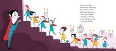 Halloween Goodnight - Ella Okstad #halloween #goodnight #witches #zombies #mummies #imps #werewolves #goblins #globsters #ghosts #boggarts #vampires #bats #spooky #childrensbook #illustration #illustrator #kidlit #kidlitart #kidlitartist #artist #booksforkids #kidsbooks #raiseareader #read #book #ellaokstad