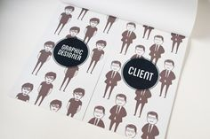 Graphic Designer vs Client on Behance