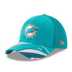 new style 808e6 d5434 Men s New Era Aqua Miami Dolphins 2017 NFL Draft On Stage 39THIRTY Flex Hat