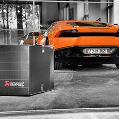 First #Akrapovic Sport Exhaust for the @Lamborghini #Huracan by @Akkernl