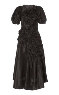 Get inspired and discover Johanna Ortiz trunkshow! Shop the latest Johanna Ortiz collection at Moda Operandi. Casual Dresses, Short Dresses, Fashion Dresses, Formal Dresses, Black Bridal Dresses, Taffeta Dress, Women Wear, Style Inspiration, Lace Maxi