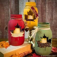 Ball jar candles