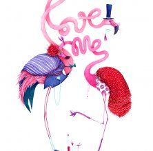 Love me by Madalina Andronic - Atelierul de Print