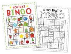 The Grasshopper's Knee: Winter Holiday Class Party ideas - Holiday Bingo (part Christmas Bingo Game, Preschool Christmas, Christmas Mom, Christmas Crafts, School Holiday Party, School Parties, Holiday Parties, Holiday Fun, Holiday Ideas