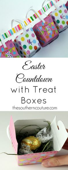 Get your kids EXCITED about Easter and share with them the true meaning of it all with this Easter Countdown. They will look forward to opening each day's surprise. Get all the details now.