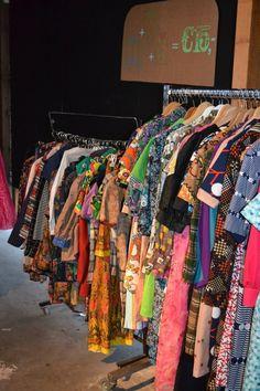 Lees op www.fruitofthecity.com waarom vintage kleding milieubewust is!