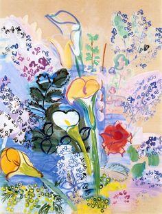The joyful work of Raoul Dufy. | M ELLE