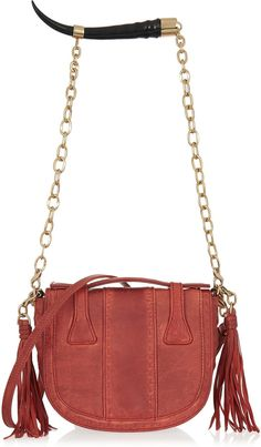 Okapi Yemaja small leather shoulder bag