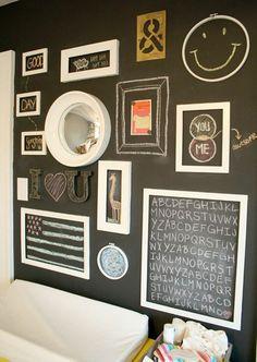 Idee DIY per decorare le pareti con quadri e poster