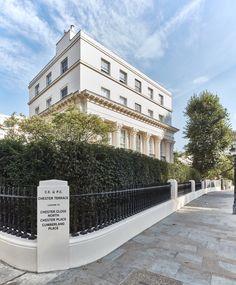 Architecture Plan, Chester, Terrace, Facade, London, Park, Balcony, Patio, Facades