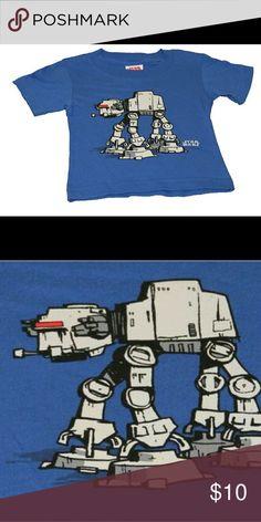 Star Wars T shirt AT-AT Walker Tee 100% cotton Made in Salvador Shirts & Tops Tees - Short Sleeve