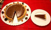 No solo de dulces vive el hombre: Tarta de chocolate