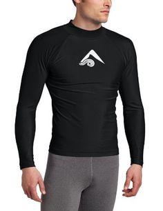 Kanu Surf Men's Platinum Rashguard Shirt Black x Large | eBay