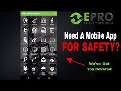 EPRO Safety Solutions Mobile App - Android & iPhone - #EPROSafety #YouTube #safetytraining #safety #training #equipment #inspection #SaveALife #osha #mobileapp #construction