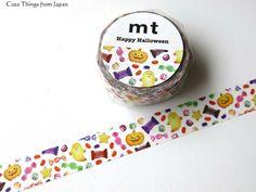 20% OFF mt Halloween Washi Tape, Masking Tape, Halloween 2016 Collection, MTHALLO03