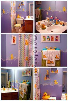 our duck bathroom