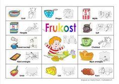 Mariaslekrum - Pratkartor. Learn Swedish, Swedish Language, Sign Language, Pre School, Adhd, School Supplies, Classroom, Teaching, Education