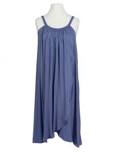 Damen Trägerkleid, blau von fashion made in italy bei www.meinkleidchen.de