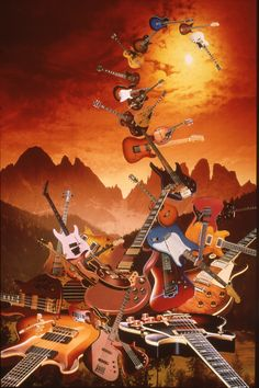 Hymn To The Guitar / Preis: 1'100 CHF Artwork