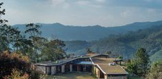 Casa ganha personalidade ao incorporar telhado verde que imita as montanhas