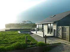 The Beach House, Chesil Beach, Dorset This chic timber cottage is more like an adult-sized doll's house. ...