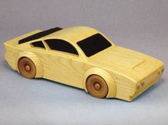 19-W3656 - High Performance Street Racer Woodworking Plan