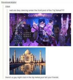 there is a gay nightclub under the taj mahal