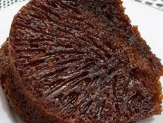 Bolu caramel/Bolu sarang semut langkah memasak 6 foto