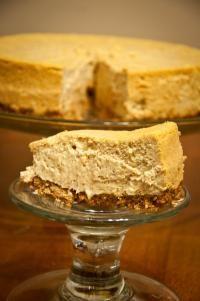 Fall Pumpkin Cheesecake... Hello Thanksgiving dinner!